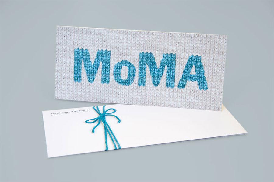 MoMA Holiday Cards - Brigitta Bungard